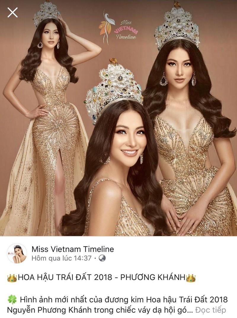 Hoa hậu Phương Khánh đẹp tựa nữ thần khoe sắc cạnh vương miện - ảnh 2