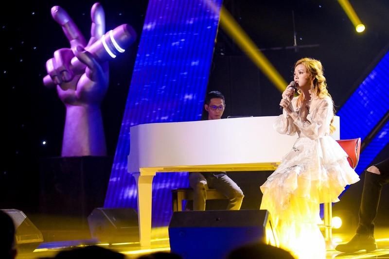 Hồ Hoài Anh thử thách học trò khi hát mộc cùng piano - ảnh 2