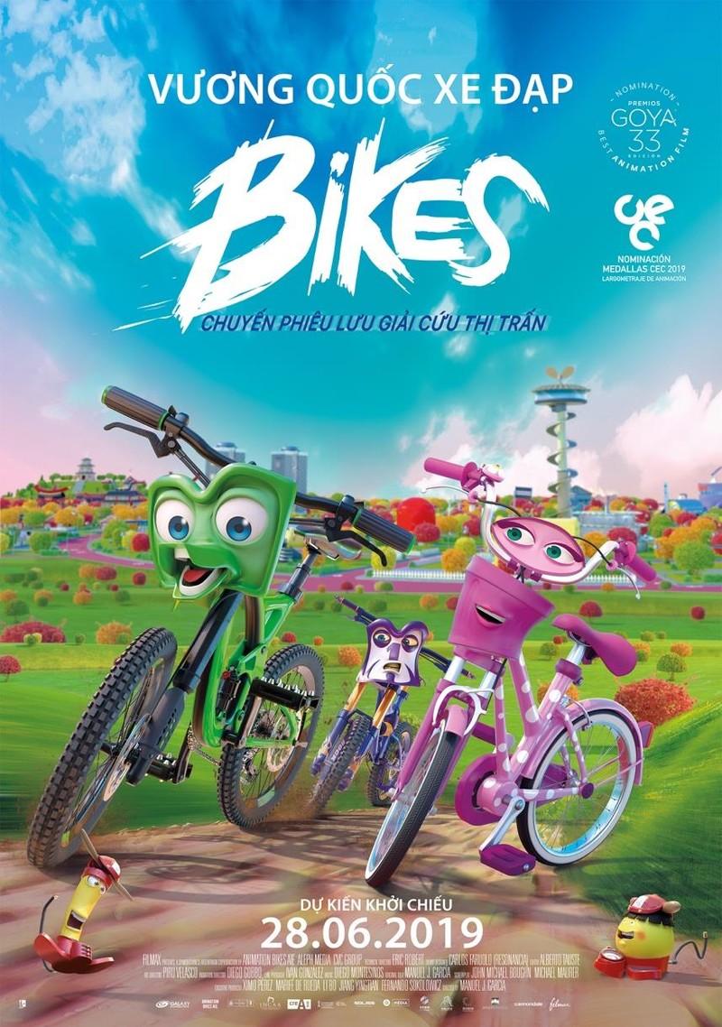 Bikes chuyến phiêu lưu đáng yêu của những cô cậu xe đạp - ảnh 1