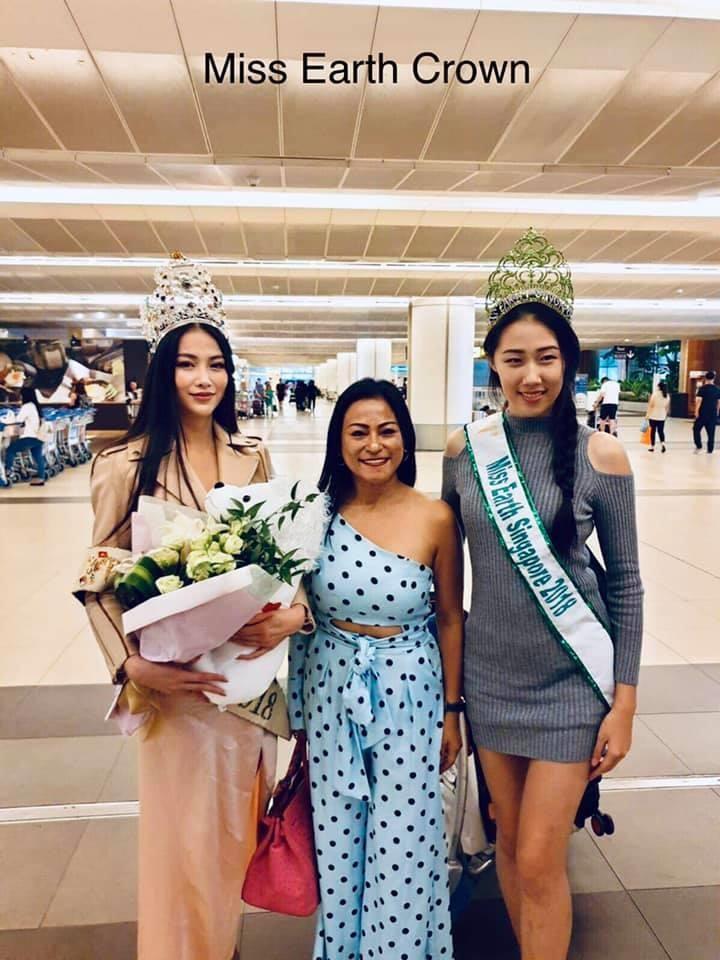 Nhà sáng lập Miss Earth Singapore đón Phương Khánh - ảnh 3