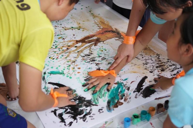 Ngày hội vui chơi dành cho trẻ em các mái ấm  - ảnh 1