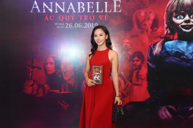 Dàn sao Việt chào đón sự trở lại của búp bê quỷ ám Annabelle  - ảnh 13