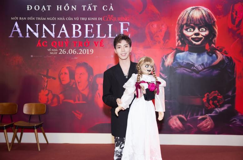 Dàn sao Việt chào đón sự trở lại của búp bê quỷ ám Annabelle  - ảnh 3