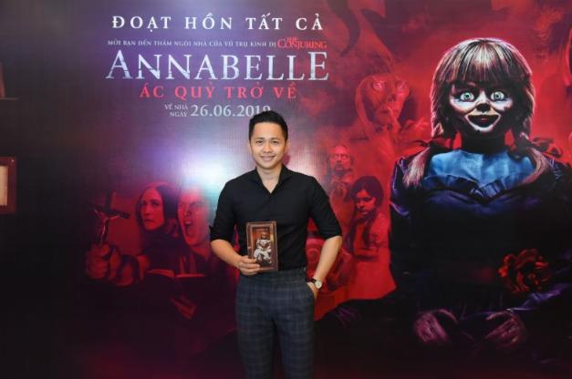 Dàn sao Việt chào đón sự trở lại của búp bê quỷ ám Annabelle  - ảnh 14