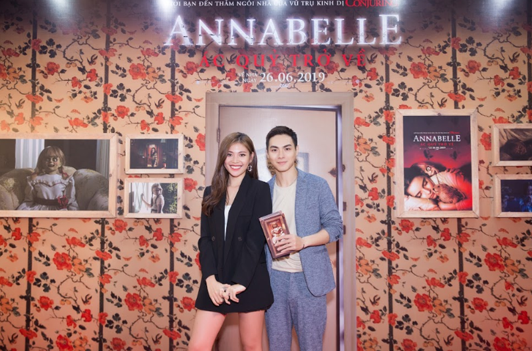 Dàn sao Việt chào đón sự trở lại của búp bê quỷ ám Annabelle  - ảnh 6