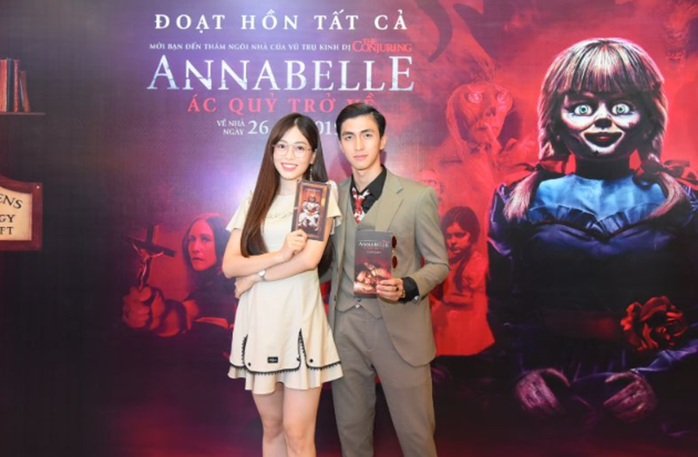 Dàn sao Việt chào đón sự trở lại của búp bê quỷ ám Annabelle  - ảnh 9