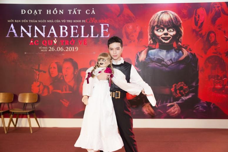 Dàn sao Việt chào đón sự trở lại của búp bê quỷ ám Annabelle  - ảnh 5