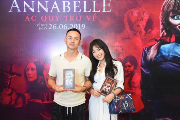 Dàn sao Việt chào đón sự trở lại của búp bê quỷ ám Annabelle  - ảnh 8