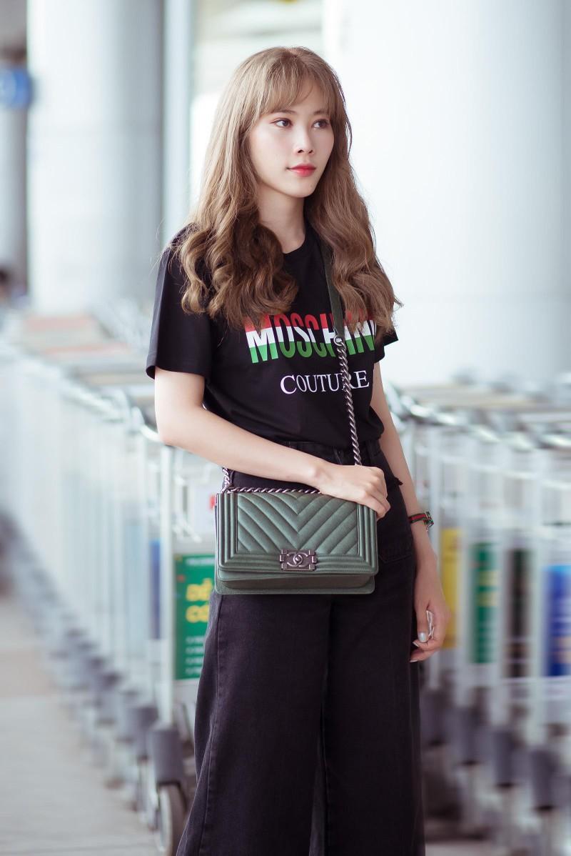 """Nam Em diện cả """"cây"""" đồ hiệu, đẹp tựa gái Hàn - ảnh 3"""