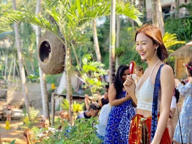 Ngắm Hà Thu diện bikini tại Bali - ảnh 1