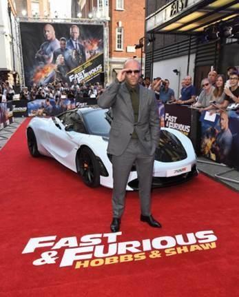 Jason Statham tụ hội tại buổi công chiếu phim 'Fast & Furious' - ảnh 2