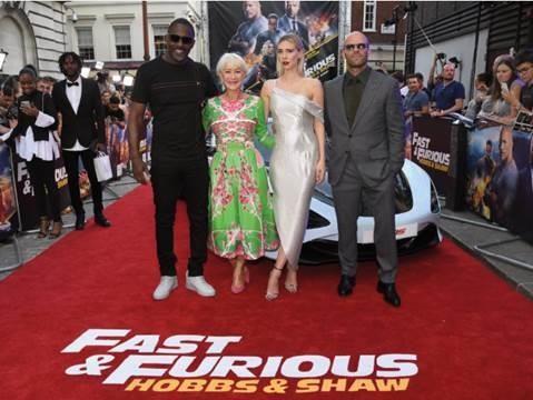 Jason Statham tụ hội tại buổi công chiếu phim 'Fast & Furious' - ảnh 8