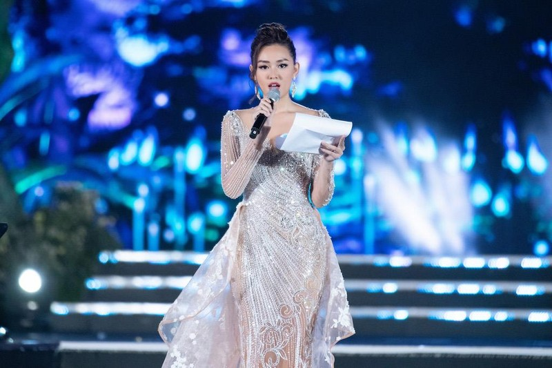 Lương Thùy Linh đăng quang Hoa hậu Thế giới Việt Nam 2019 - ảnh 4
