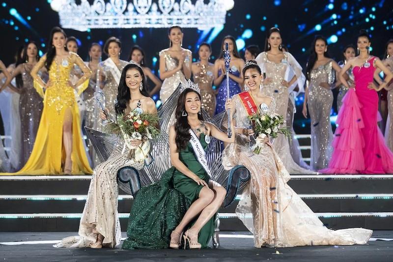 Lương Thùy Linh đăng quang Hoa hậu Thế giới Việt Nam 2019 - ảnh 1