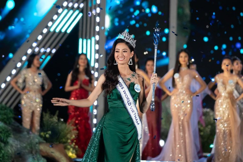 Ngắm nhan sắc tân Hoa hậu Thế giới Việt Nam Lương Thùy Linh - ảnh 12