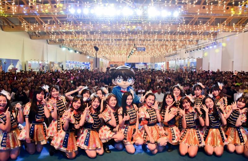 SGO48 'thất thủ' trước fan tại sự kiện giao lưu văn hóa  - ảnh 1