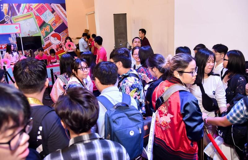 SGO48 'thất thủ' trước fan tại sự kiện giao lưu văn hóa  - ảnh 2