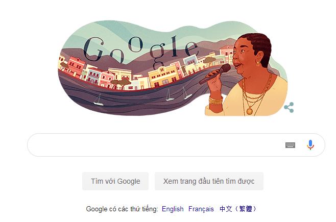 Cesária Évora là ai mà Google vinh danh? - ảnh 2