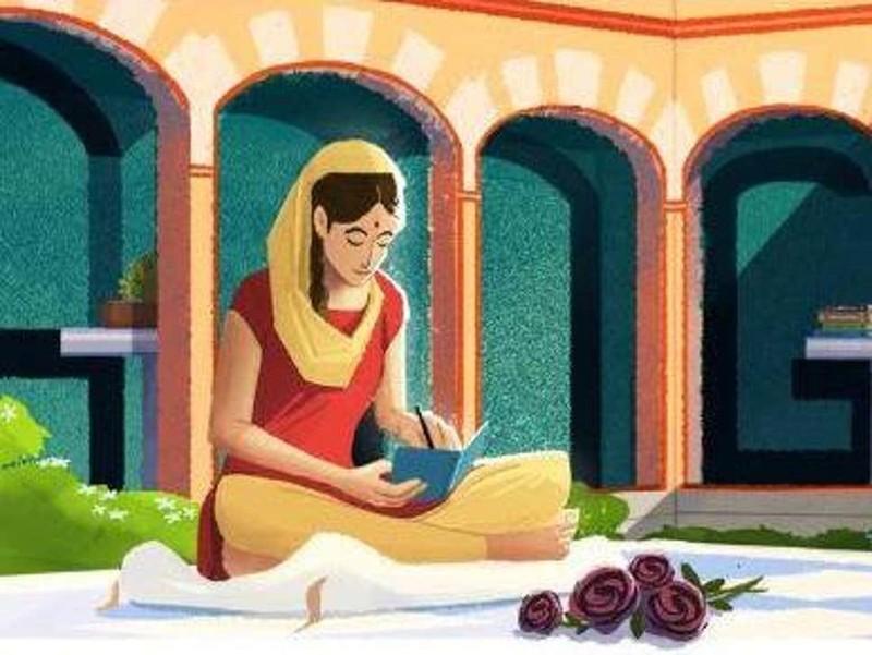 Amrita Pritam là ai mà Google Doodle vinh danh? - ảnh 1