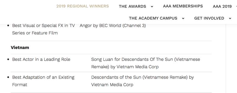 Song Luân thắng giải ở Singapore nhờ 'Hậu duệ mặt trời' - ảnh 3