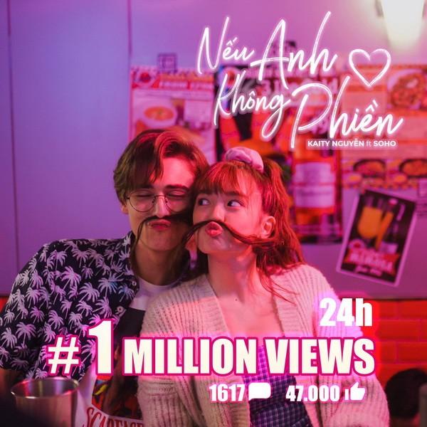 'Nếu anh không phiền' cán mốc triệu view chưa đầy 24 giờ - ảnh 1