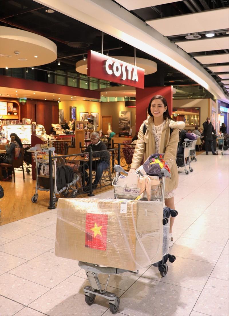 Lương Thùy Linh chọn màu hồng chuẩn gu Miss World - ảnh 1