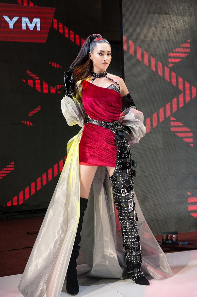 Lương Thùy Linh ngoạn mục lọt top 40 phần thi Top Model - ảnh 5