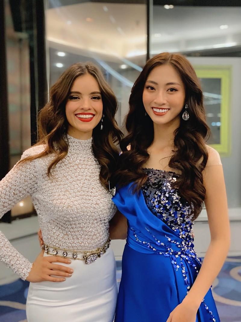 Lương Thùy Linh ngoạn mục lọt top 40 phần thi Top Model - ảnh 3