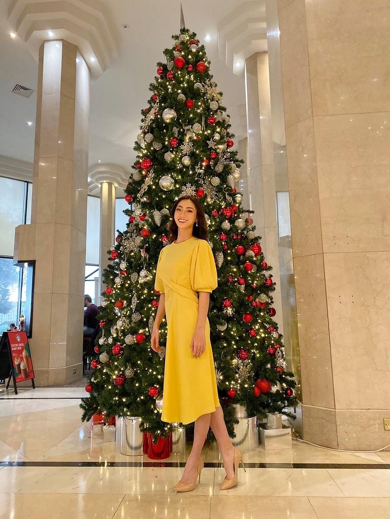 Lương Thùy Linh ngoạn mục lọt top 40 phần thi Top Model - ảnh 2