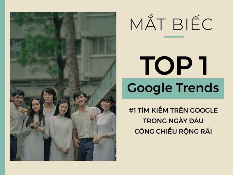 Mắt biếc lọt tốp 1 Google trends ngay ngày khởi chiếu sớm - ảnh 1