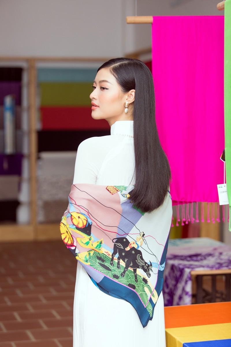 Á hậu Kiều Loan tung bản mashup nhạc về mùa xuân  - ảnh 4