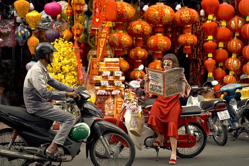 Kaity Nguyễn khoác lên mình áo dài hóa nàng thơ đất kinh kỳ - ảnh 2