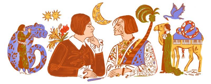 Google Doodle vinh danh Else Lasker-Schüler - ảnh 1