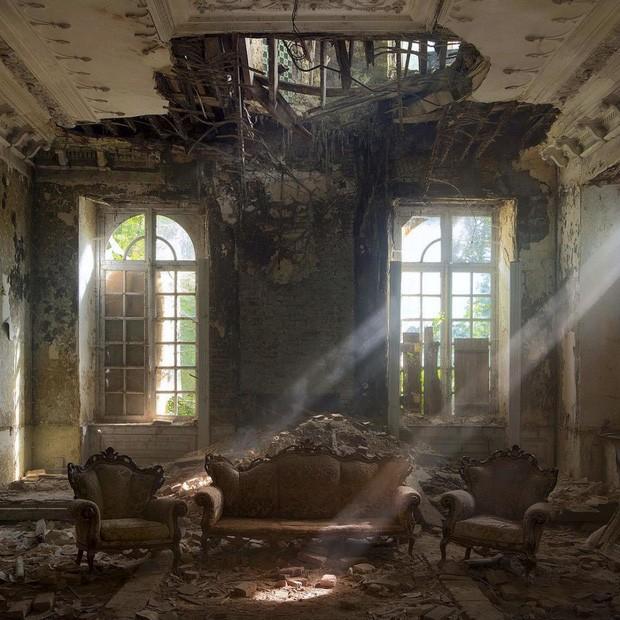 Những bức hình đáng kinh ngạc về những nơi bị bỏ hoang  - ảnh 18