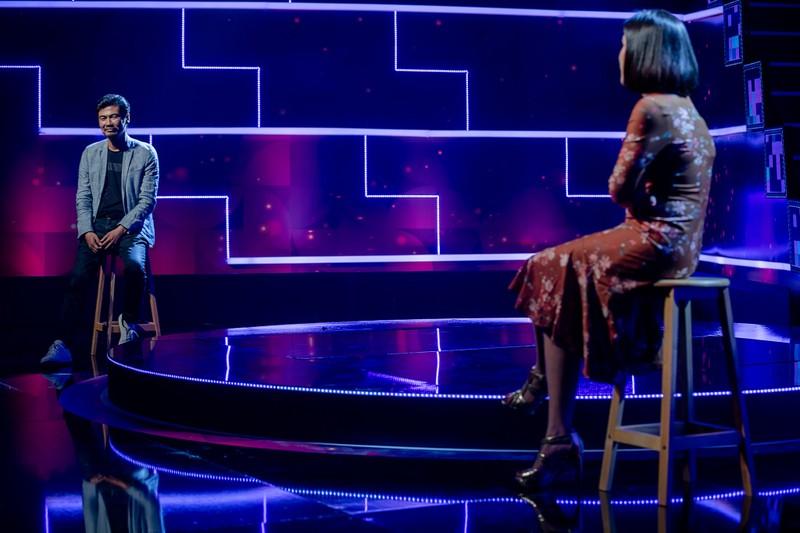 Cát Tường đòi hôn Tiết Cương trên sân khấu nếu trả lời đúng  - ảnh 6
