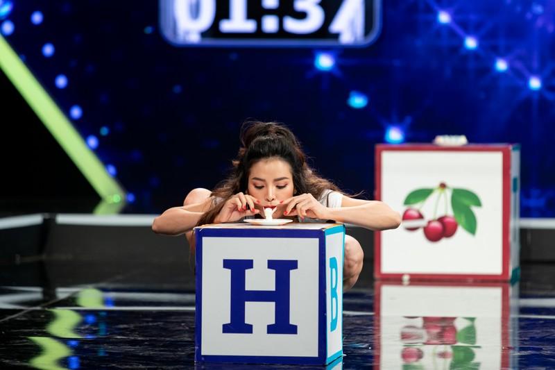Hotgirl Linh Miu thay đổi hình tượng thuỳ mị tham gia gameshow - ảnh 4