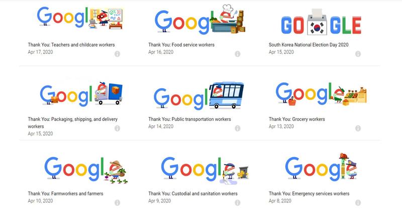 Google tôn vinh những ngành nghề khác nhau trong mùa dịch - ảnh 1