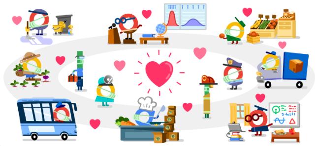 Google tôn vinh những ngành nghề khác nhau trong mùa dịch - ảnh 2