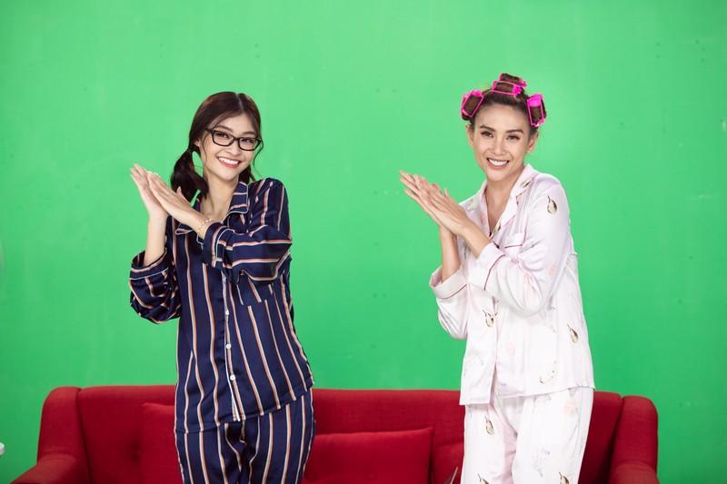 Chị em Á hậu Võ Hoàng Yến, Kiều Loan nhảy Ghen Cô Vy - ảnh 2