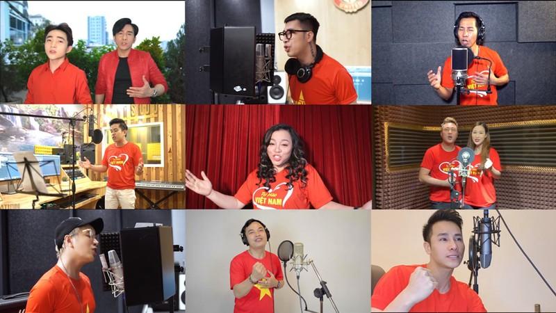 Tự hào Việt Nam dự án 0 đồng với hơn 200 người hát vang - ảnh 1