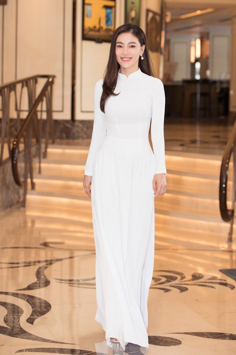 Dàn hoa, á hậu áo dài khởi động Hoa hậu Việt Nam 2020  - ảnh 5