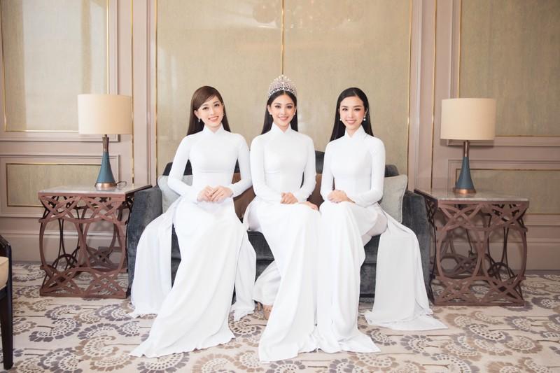 Dàn hoa, á hậu áo dài khởi động Hoa hậu Việt Nam 2020  - ảnh 3