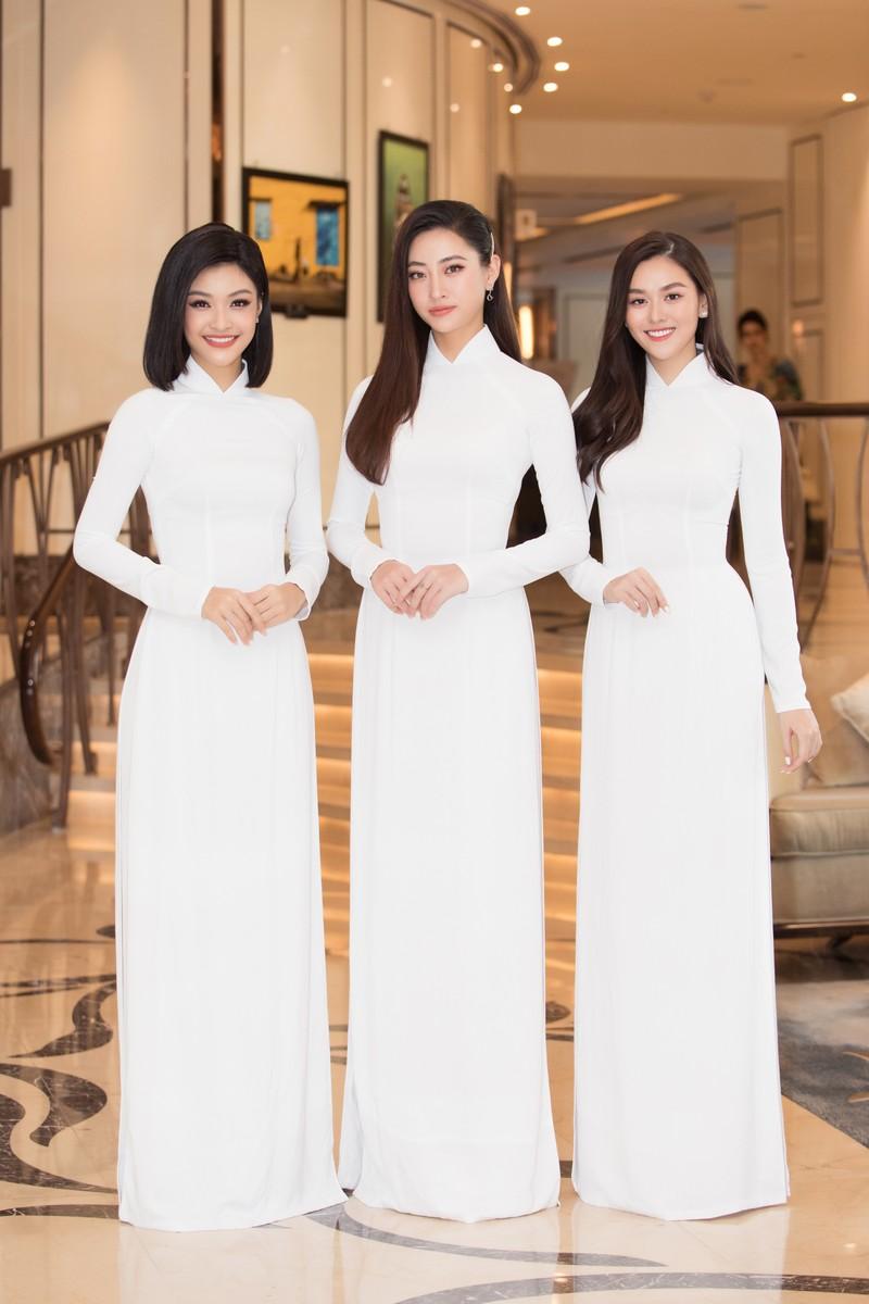 Dàn hoa, á hậu áo dài khởi động Hoa hậu Việt Nam 2020  - ảnh 4