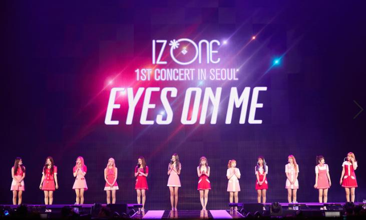 IZONE là nhóm nhạc nữ Hàn Quốc đầu tiên đưa concert lên phim - ảnh 2