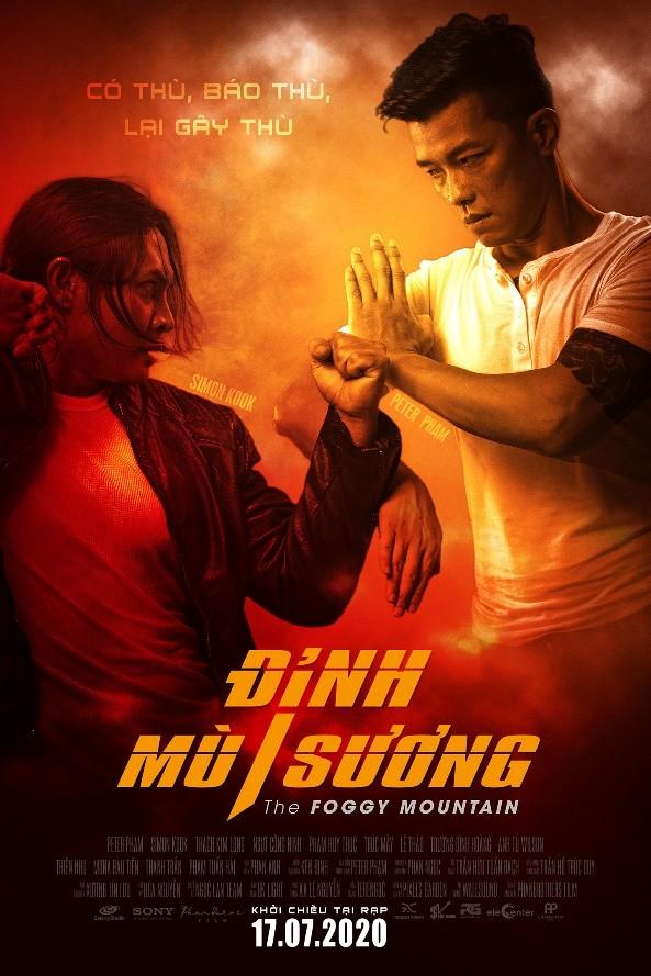 Ngôi sao võ thuật Trương Đình Hoàng góp mặt ở Đỉnh mù sương - ảnh 2