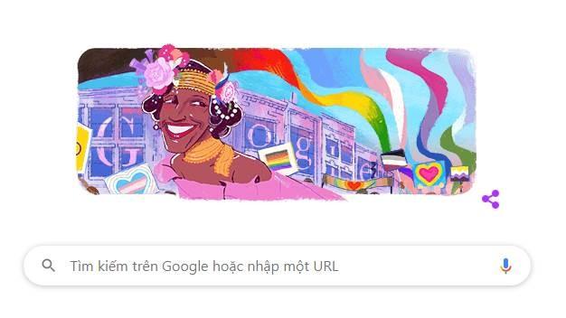 Google Doodle vinh danh Marsha P.Johnson - ảnh 1