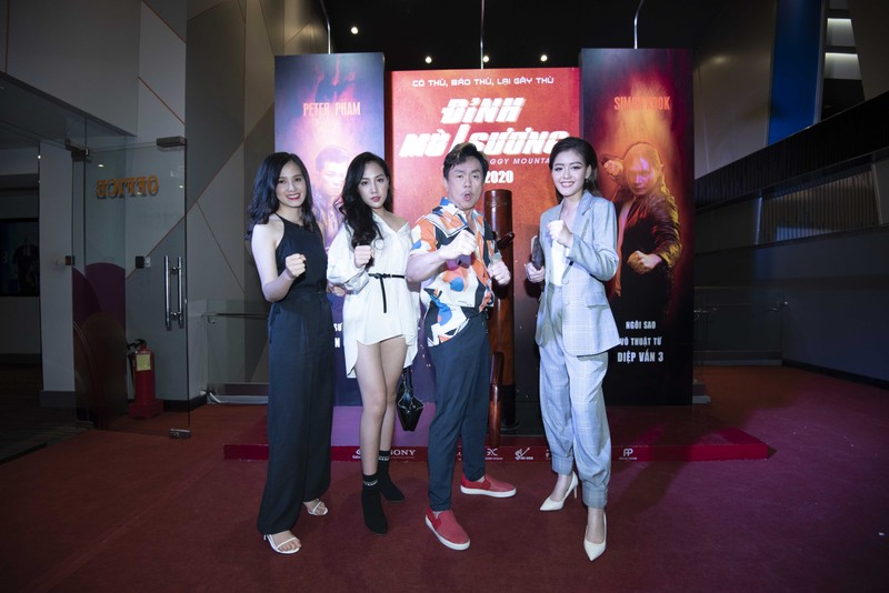 Dàn sao Việt háo hức tại buổi họp báo phim Đỉnh mù sương  - ảnh 2
