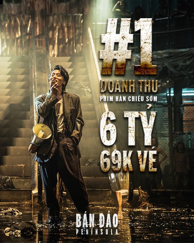 Bán đảo là phim có doanh thu chiếu sớm cao nhất ở Việt Nam - ảnh 1