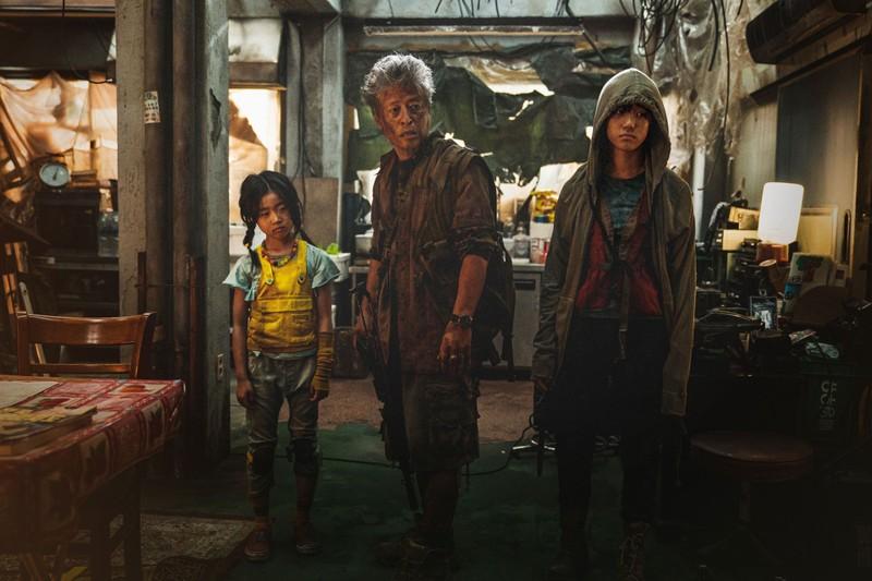 Cô bé Lee Re ghi điểm tuyệt đối qua phim bom tấn Bán đảo - ảnh 5