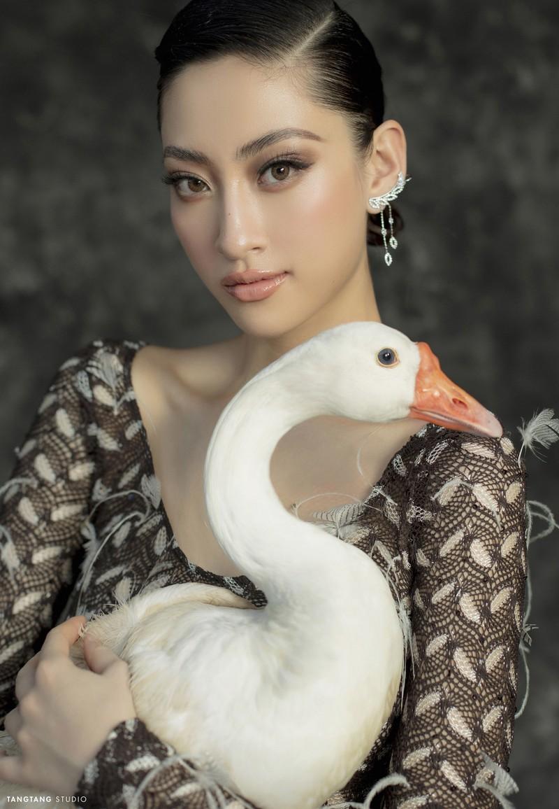 Lương Thùy Linh thay đổi hình tượng trong bộ ảnh sinh nhật  - ảnh 9